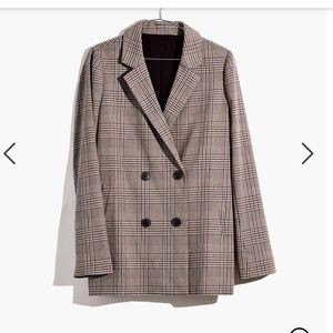 Madewell Caldwell Double Breasted Blazer! New!